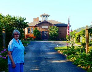 Benton School, with Ruby Bontrager